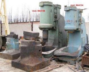 Pneumatic air forging hammer model MA4136 | Forging Hammers