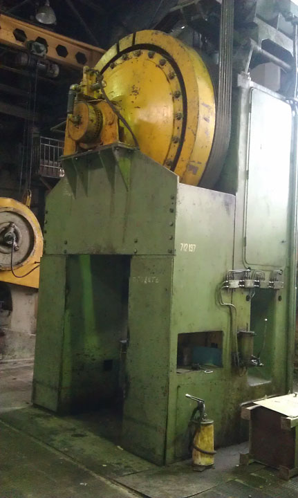 Hot Forging Press Smeral Lzk 1600 Hot Forging Presses