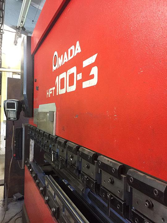 CNC Press brake AMADA HFT 100-3 | Press Brakes | Bending and