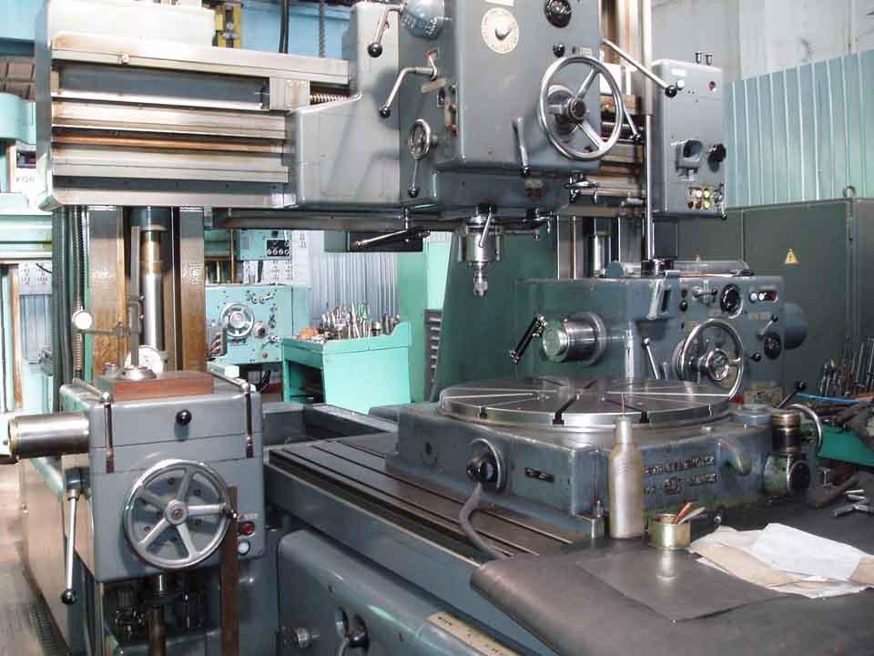 Jig Borer Sip Hydroptic 8p Boring Machines Boring Machinery