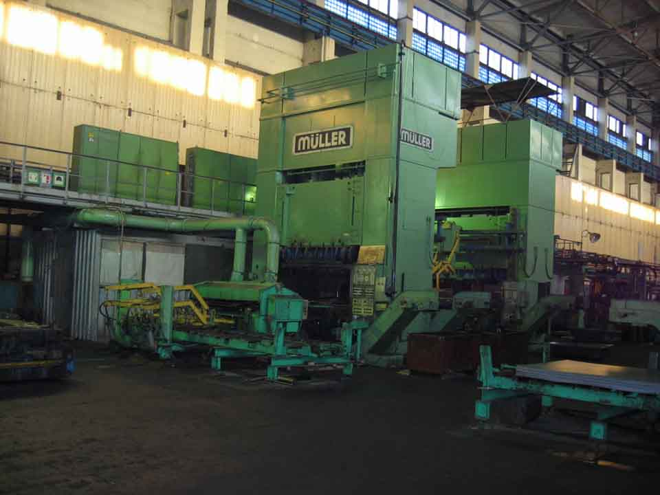Press lines Lapple for stamping of steel baths | Press Lines ...